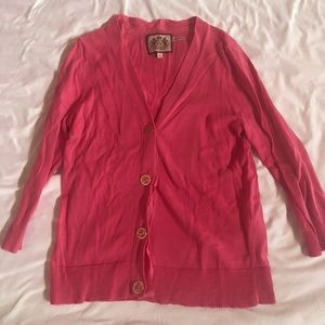 Juicy couture 3/4 sleeve lightweight sweater